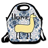 BURBERRY 帽子 jidfnjg Llama Llame Insulated Lunch Bag for Kids