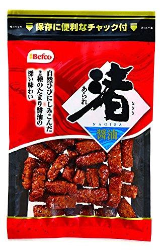 『栗山米菓 渚あられ(しょうゆ) 100g×12袋』のトップ画像