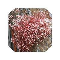 15-25Cmナチュラルフレッシュ、08レアルフォーエバーベビーブレスフラワーブランチのDIYの花素材、花を乾燥させたプリザーブド