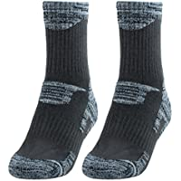 uxcell R-BAO Authorized Adult Men Cotton Blends Trekking Hiking Exercise Sports Cycling Socks Pair