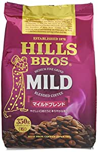 ヒルス コーヒー 豆(粉) マイルドブレンド AP 350g