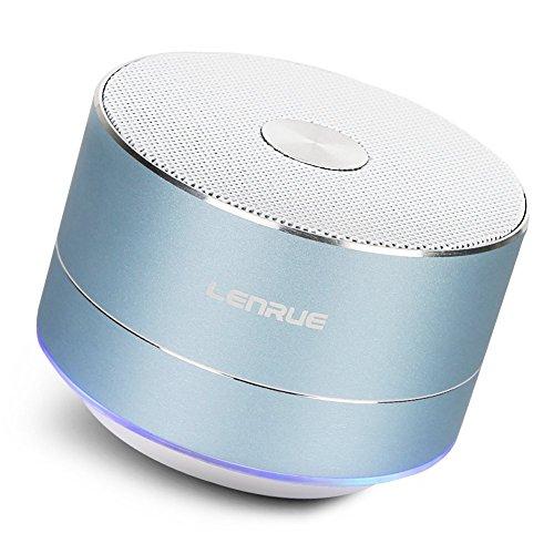 Lenrue Bluetooth スピーカー ポータブル ブルートゥース スピーカー ミニ ワイヤレ...