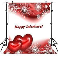 GooEoo 5×7FTバレンタインデーのテーマ絵布カスタマイズされた写真の背景の背景スタジオプロップVDD062