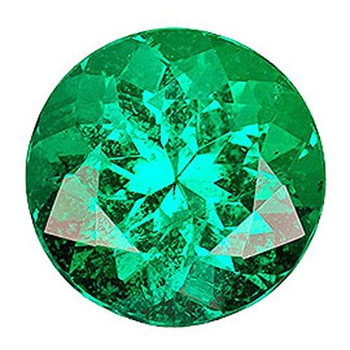 カラーダイヤモンド ブリリアントカット ルース 2.4mm 1個 エメラルドグリーン クラリティ:SI diac-emg-2.4mm