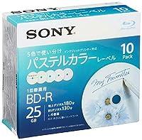 SONY ビデオ用ブルーレイディスク 10BNR1VJCS4(BD-R1層:4倍速 10枚パック)