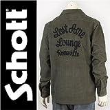 (ショット) Schott コーデュロイ ワークシャツ CORDUROY WORK SHIRT LOST ACRE 3125036-73 長袖 M