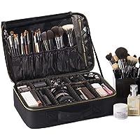 ROWNYEON Portable Makeup Bag EVA Professional Makeup Artist Bag Makeup Train Case Makeup Organizer Bag