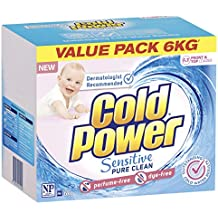 Cold Power Sensitive Pure Clean, Powder Laundry Detergent, 6 Kilograms