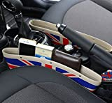 BMW MINI ミニ ユニオン ジャック シート 隙間 収納 ポケット PU レザー 調 ユニオンジャック