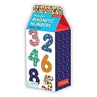 Mudpuppy Pattern Pop Wooden Magnetic Numbers [並行輸入品]
