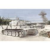 プラッツ 1/35 第二次世界大戦 ドイツ軍重戦車 ティーガーI 極初期型 第502重戦車大隊 レニングラード 1942/3 プラモデル