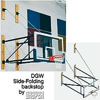 DGW横開き壁マウントバスケットボールBackstop拡張子: 5 '