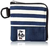 [チャムス] コインケース Square Coin Case Sweat Nylon CH60-0693-A046-00 N038 NavyNatural/BasicNavy