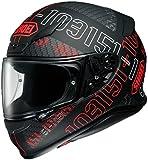 ショウエイ(SHOEI) バイクヘルメット フルフェイス Z-7 PERMUTATION【パーミュテーション】 TC-1 (RED/BLACK) L (59cm)