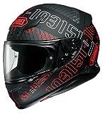 ショウエイ(SHOEI) バイクヘルメット フルフェイス Z-7 PERMUTATION【パーミュテーション】 TC-1 (RED/BLACK) M (頭囲 57cm)