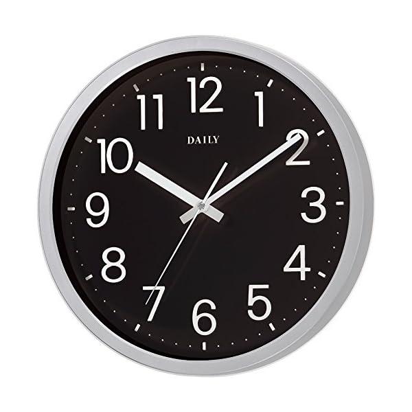 DAILY(リズム時計) クォーツ時計 フラッ...の紹介画像4