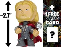 "Thor: ~2.7"" Avengers - Age of Ultron x Funko Mystery Minis Vinyl Mini-Bobble Head Figure Series + 1 FREE Official Marvel"