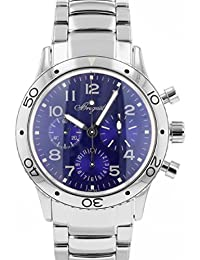 [ブレゲ] 腕時計 BREGUET 3807ST/J2/SW9 タイプXX アエロナバル ブルー文字盤 SS メンズ 自動巻き [中古品] [並行輸入品]