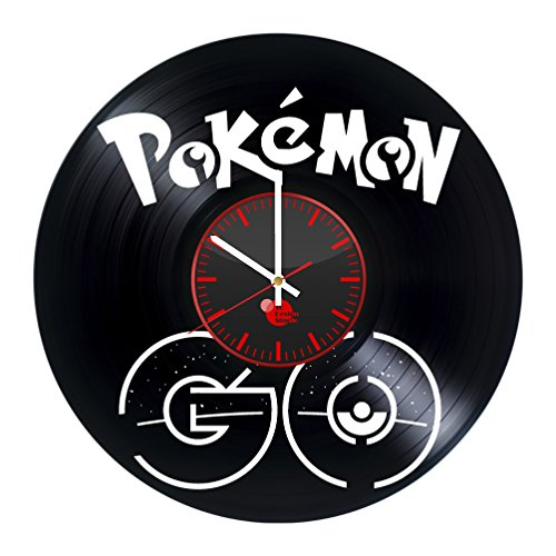 Pokemon Go Anime Vinyl Record Wall Clock - Get uni...
