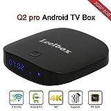 Leelbox Q2 pro Android 6.0 TV Box 2GB 16GB デュアル-WIFI2.4GHz/5GHz BT 4.0 サーポート 4K (60Hz) Full HD