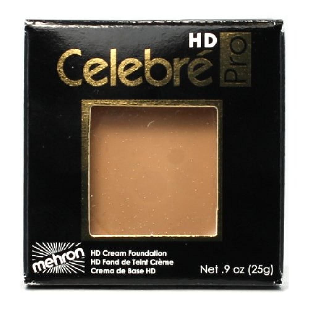 庭園材料神経(3 Pack) mehron Celebre Pro HD Make-Up - Medium 2 (並行輸入品)
