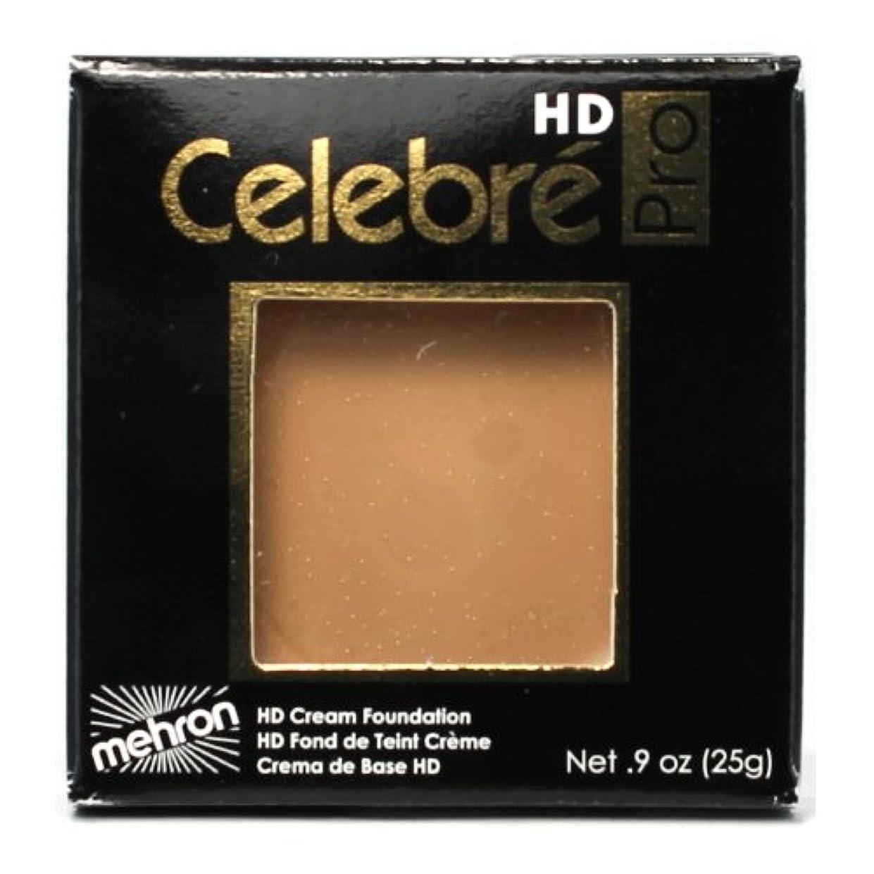 ラック枢機卿帰する(3 Pack) mehron Celebre Pro HD Make-Up - Medium 2 (並行輸入品)