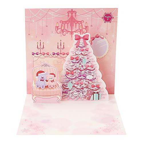 サンリオ クリスマスカード 洋風 メロディ 二つ折り 松田聖...