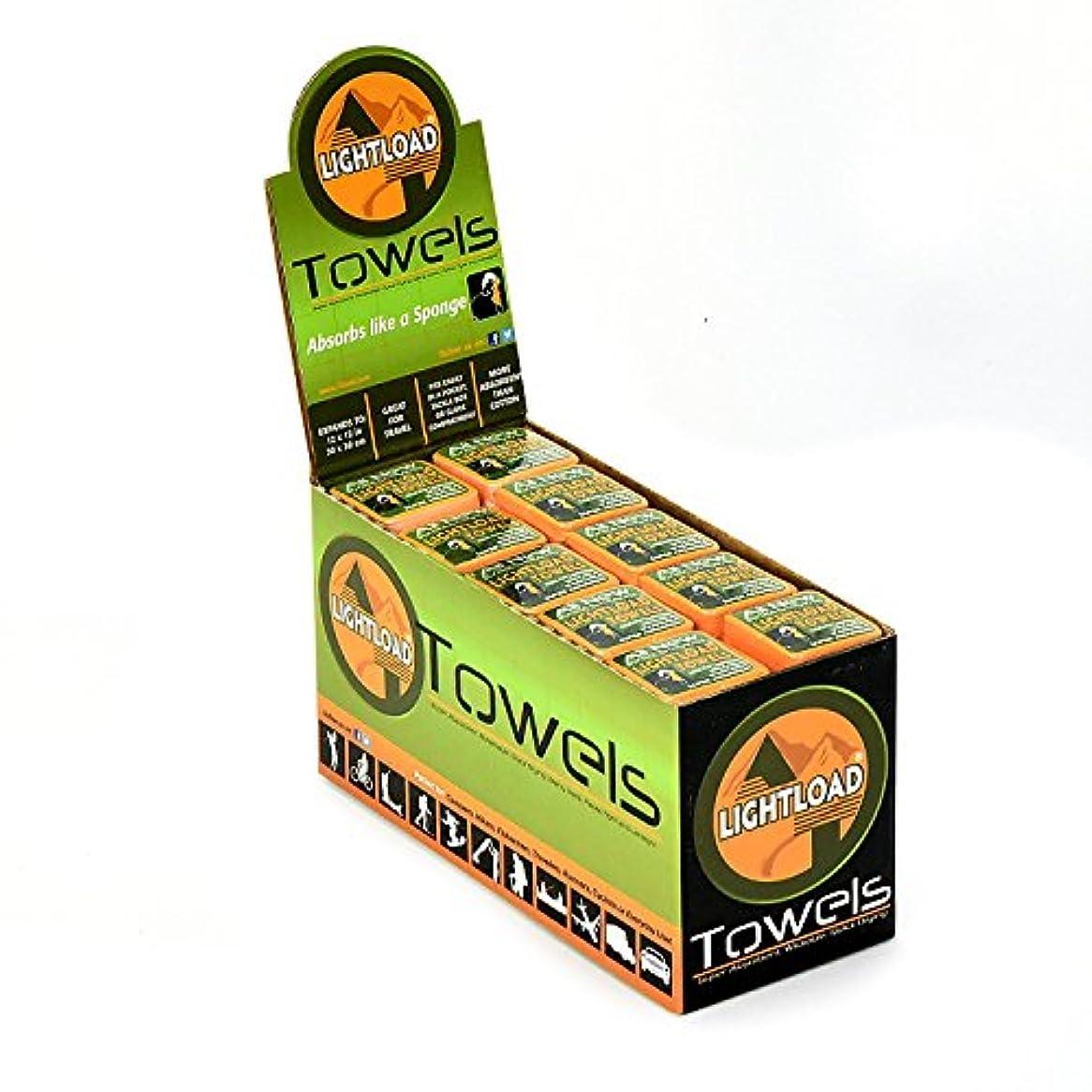 助けになる生産性極端な余分な強度コンパクト再利用可能なタオルmulti-tool 0.2オンス、クイックドライパック、スーパー吸収性、抗菌、ソフト、丈夫なアウトドアのすべてのactivities- 50 Pieceギフトボックス12 x 12