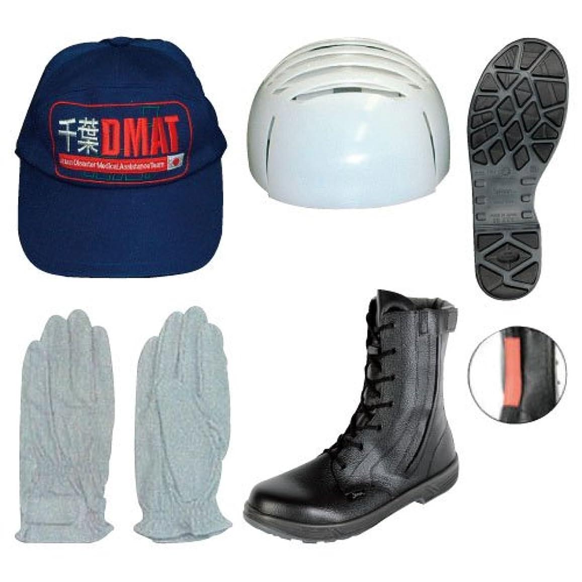 アクセント強います騒DMAT用手袋 DMAT???????(23-2391-00)??L L