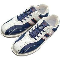 Dexter ボウリング シューズ Ds38 ネイビー・ホワイト デクスター ボウリング用品 靴 ボーリング グッズ (24.5, 右)