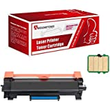 Compatible Brother TN760 Toner Cartridge - with CHIP Replacements for DCP-L2550DW HL-L2350DW HL-L2370DW HL-L2370DWXL HL-L2390DW HL-L2395DW MFC-L2710DW MFC-L2750DW - 1 Pack