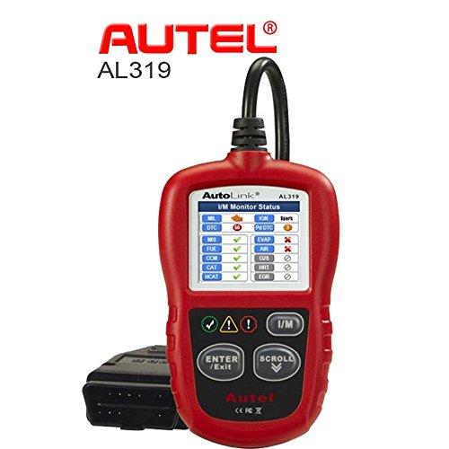 Autel Autolink Al319 Obdii/eobd Obd2 自動車故障診断機 コード リーダー コードスキャナー 【保障付】【並行輸入品】