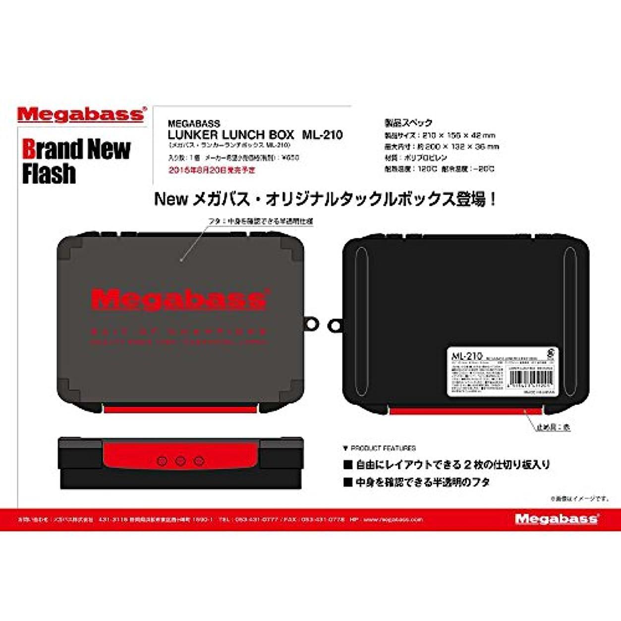 私たちジャンプペストメガバス(Megabass) LUNKER LUNCH BOX(ランカーランチボックス) MEGABASS