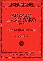 SCHUMANN - Adagio y Allegro Op.70 para Violoncello y Piano (Kurtz)