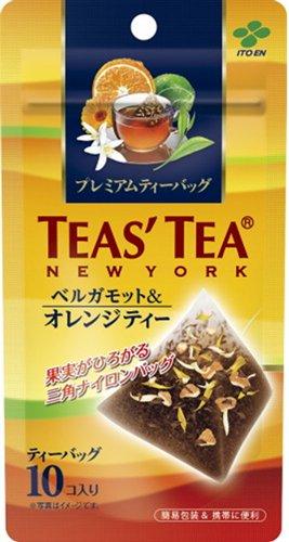 TEASTEA ベルガモット&オレンジティー 2gX10