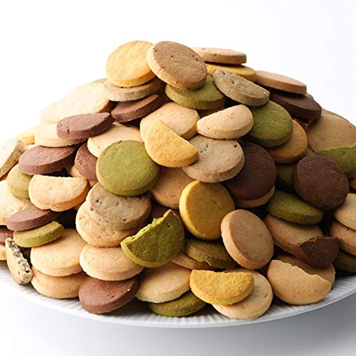 十分ですプレート考案する豆乳おからクッキー 1kg(200g×5袋)1枚約16kcal