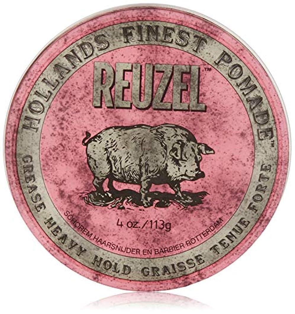 Reuzel Pink Grease Heavy Hold Pomade 4 oz/113g