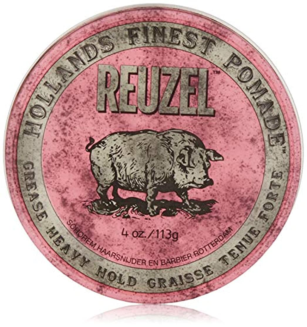 セグメントジャズ暴露するReuzel Pink Grease Heavy Hold Pomade 4 oz/113g