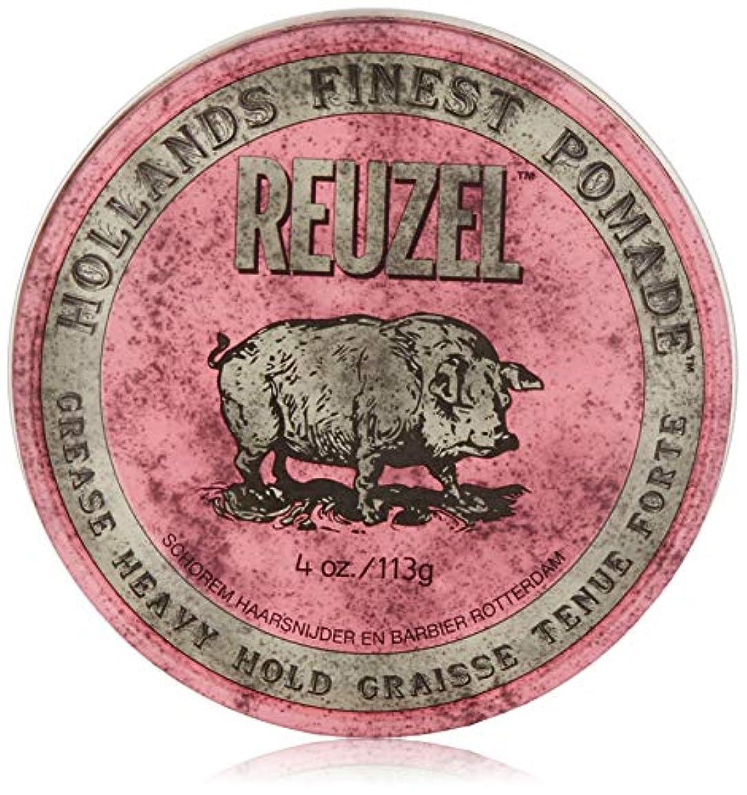 途方もないユーモラス背景Reuzel Pink Grease Heavy Hold Pomade 4 oz/113g