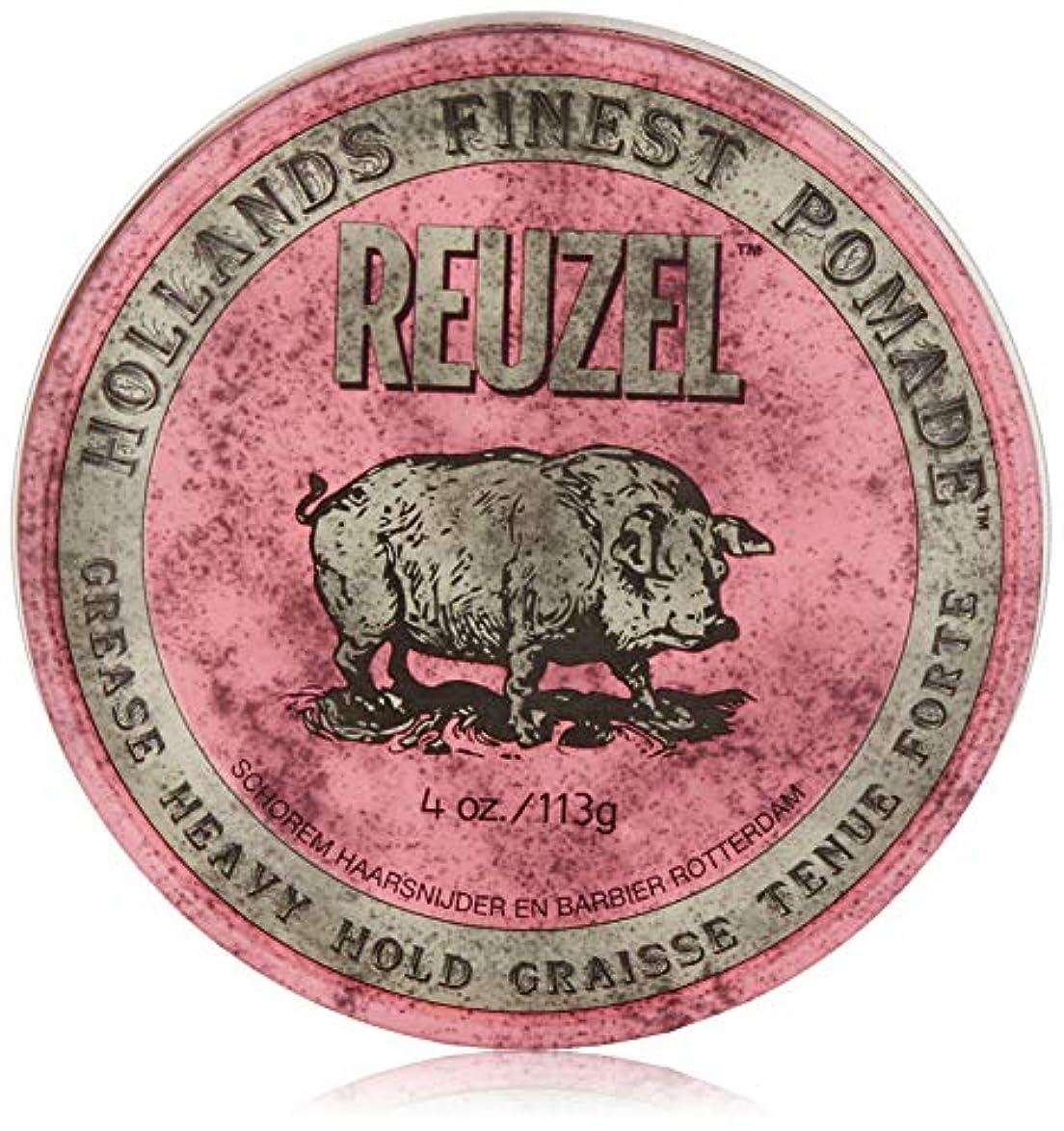 二層反発状況Reuzel Pink Grease Heavy Hold Pomade 4 oz/113g