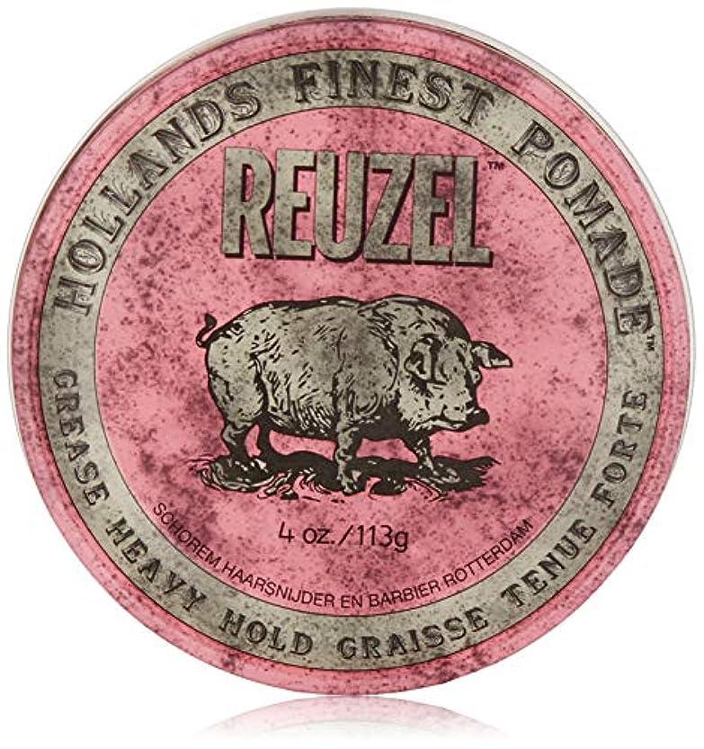 ねじれ常習者ブレンドReuzel Pink Grease Heavy Hold Pomade 4 oz/113g