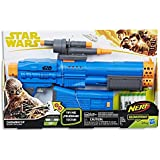 STAR WARS - Chewbacca NERF Blaster inc 6 Official Elite Darts, Stock & Scope - Kids Dress Up Toys - Ages 8+