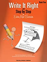 Write It Right with Step by Step (Edna Mae Burnam Write It Right)