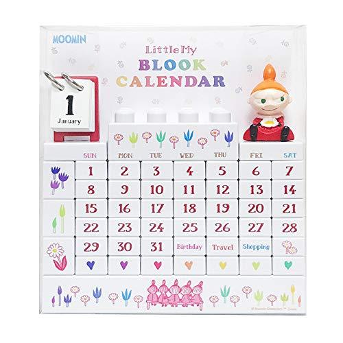 ムーミン ブロックカレンダー リトルミイ