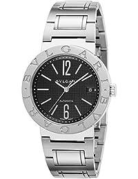 1b8318a89325 [ブルガリ]BVLGARI 腕時計 ブルガリブルガリ ブラック文字盤 自動巻 BB38BSSD AUTO メンズ 【