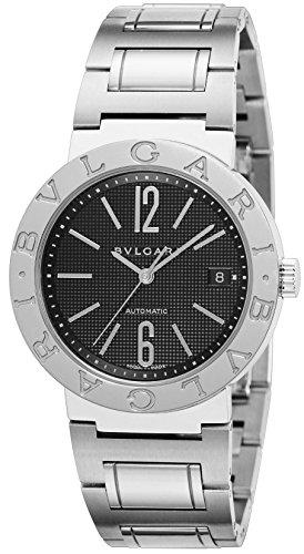 [ブルガリ]BVLGARI 腕時計 ブルガリブルガリ ブラック文字盤  自動巻 BB38BSSD AUTO メンズ 【並行輸入品】