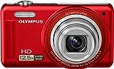 OLYMPUS デジタルカメラ VR-320 ブラック 1400万画素 広角24mm 光学12.5倍ズーム 3.0型液晶 VR-320 BLK