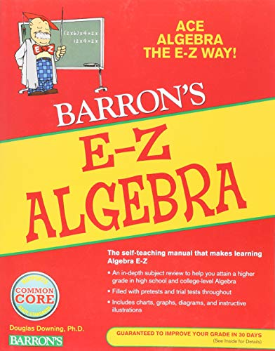 Download E-Z Algebra (Barron's Easy Way) 0764142577