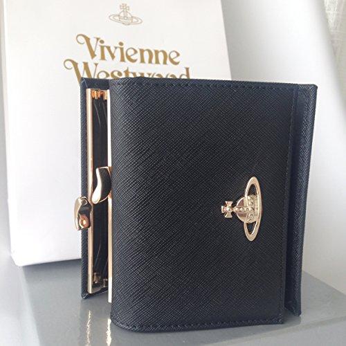 Vivienne Westwood ヴィヴィアン ウエストウッド 財布 13106 折り財布 短財布 (ブラック) [並行輸入品]