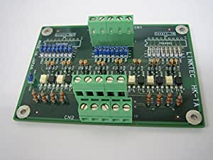 LINKTEC(リンクテック) 入出力信号変換基板 Sink5V-Sink24V 8点 HK-1A